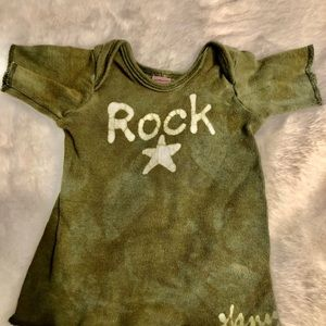 Infant 6month tye -die ROCKSTAR teeshirt